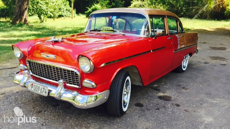 Ride To Santa Clara In Old Fashion American Clic Cars Tour