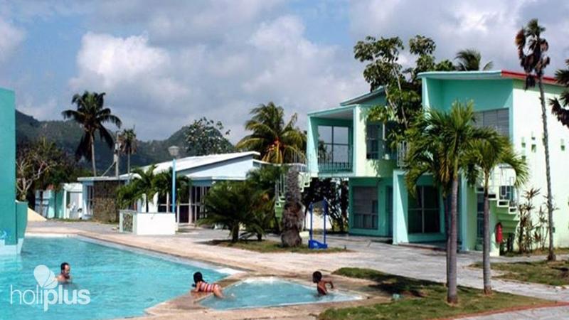 Hotel Pool Panoramic View