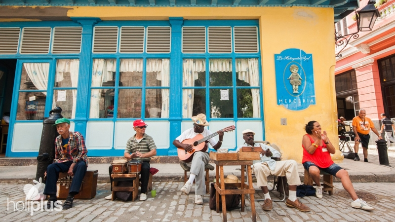 Traditional Cuban Music At Old Havana City