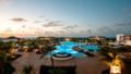 Hotel's panoramic pool view
